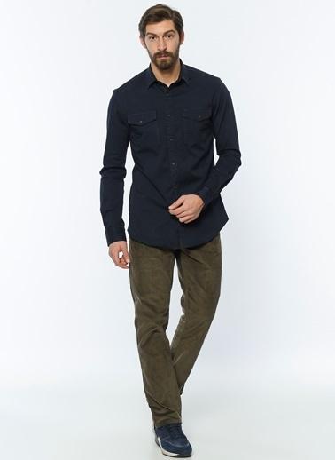 Lee Cooper Kadife Pantolon | Ricky - Regular Vizon